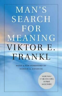 Man's Search for Meaning 🔥PDF Book 🔥30 Sec Delivery