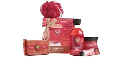 The Body Shop Strawberry Gift Set - Great For Mothers Day - Birthdays