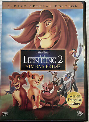 The Lion King 2 Simbas Pride (Special Edition, DVD, 2004, Disney) Canadian