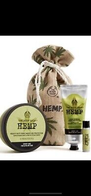 The Body Shop Hemp Moisture Gift Set Great For Mothers Day - Birthdays