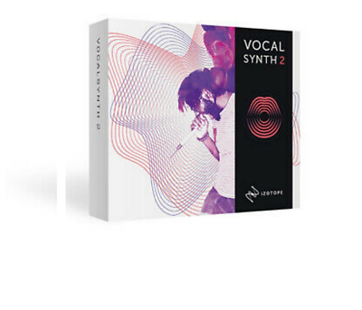 🎤 IZOTOPE VocalSynth 2 Vocal For Windows Full Version🔥 INSTANT DELIVERY✅60%Off
