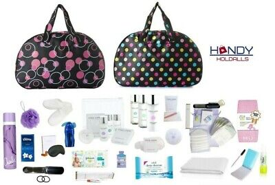 QUALITY Pre-Packed Maternity Hospital Labour Baby Bag With LUXURY Toiletry Kit