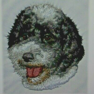 Portuguese Water Dog Breed Bathroom SET OF 2 HAND TOWELS EMBROIDERED Personalize