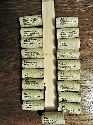 19 Crimes Wine Corks    Set   1-18