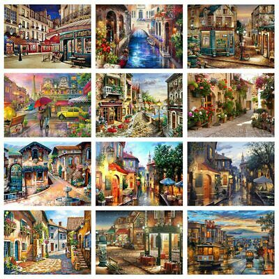 Evershine 5D DIY Diamond Painting City Landscape Embroidery Full Square Drill