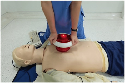 CPR RsQ Assist Chest Compressions Life-Saving Anti-Fatigue Voice Prompt Device