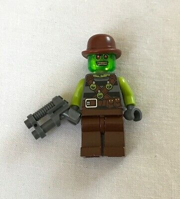 NEW Lego Minifig GRAY BLASTER GUN Police Ultra Agents Trigger Weapon w//Bullets
