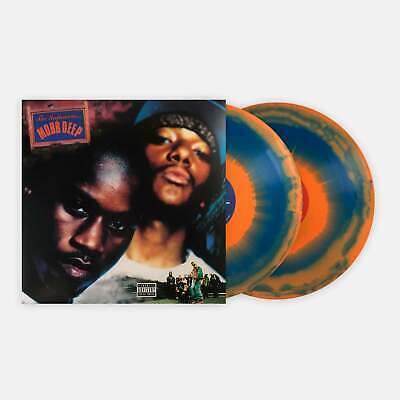 Mobb Deep - The Infamous Vinyl Record LP Limited Edition Orange and Blue Swirl