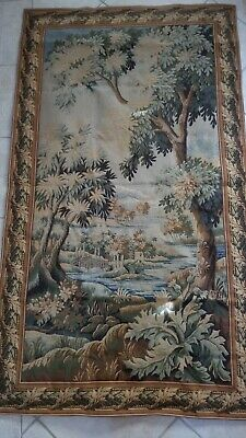 Forest of Clairmarais French Tapestry Wall Hanging