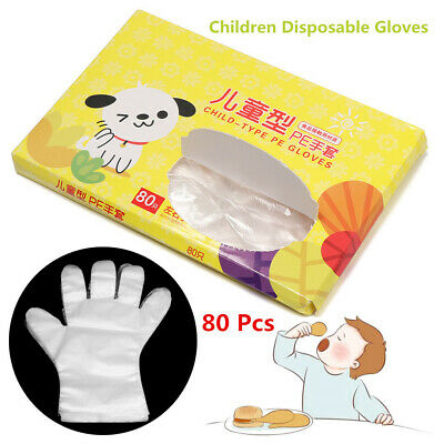 Fruit Kids Food Plastic Clear Avoid Direct Touch Children Disposable Gloves
