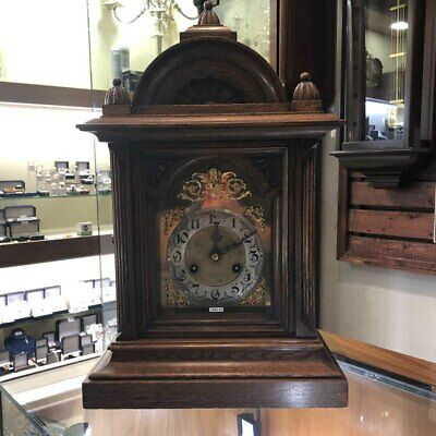 An 8 Day Ting-Tang Striking Bracket Clock by Junghans, Fully Serviced
