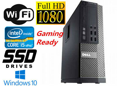 Fortnite Gaming PC Desktop Computer i5 16GB 128GB SSD+2TB HD4550 Win10 WIFI