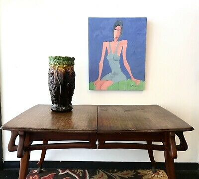 Antique Arts and Crafts Table