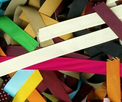 25 yards grosgrain ribbon solid colors 3/8 inch Free shipping
