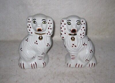 Decorative Collectible King Charles Spaniel Ceramic Dogs