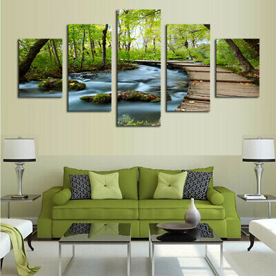 Unframed Modern Flower Art Oil Canvas Painting Picture Prints Home Wall Decor