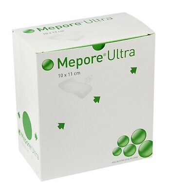 Mepore Ultra Dressing | 10Cm X 11Cm | Qtys | Absorbent | Shower Proof | Adhesive