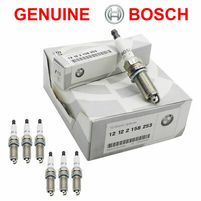 Set of 6 BMW GROUP 12 122 158 253 / FR7NPP332 High Power Spark Plugs For BMW