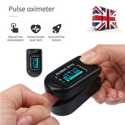 Fingertip Finger Pulse Oxygen Saturation Monitor Blood Oximeter Pressure Meter