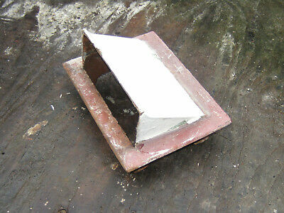 Very Old Vintage Cast Iron indoor Air Brick Vent, 1920s 4kg in weight