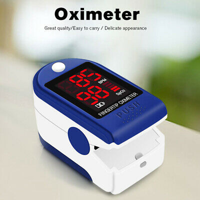 Digital LED Finger Blood Oxygen Oximeter Fingertip Pulse Oximeters Saturator