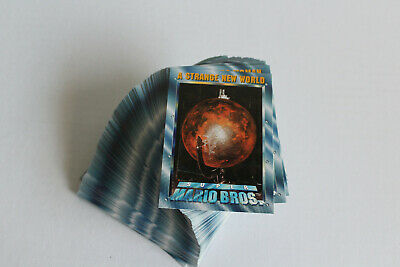 1993 Skybox ~ Super Mario Brothers ~ Complete Base Set ~ 100 Cards
