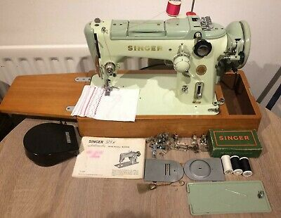 Singer 319K Semi Industrial Heavy MULTI STITCH CAMS Machine With Instructions