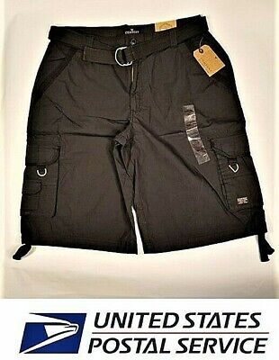 Company 81 Special Ops Cargo Shorts Black Size 38   ( AC-04 )
