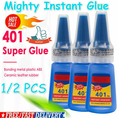 Mighty Instant Glue 401 Multi-Purpose Super Glue Instant Adhesive DIY 1-2pcs HOT