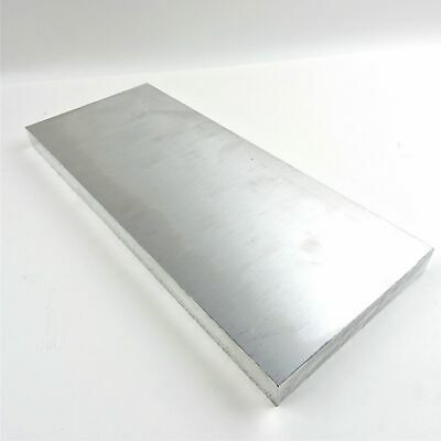 ".75"" thick  3/4  Aluminum 6061 PLATE  5.375"" x 15"" Long  sku 137196"