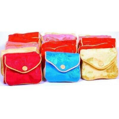 """36 Jewelry Chinese Silk Pouches Bracelet Display 3"""""""