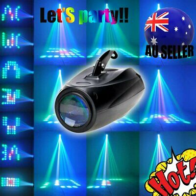 Music Active RGBW LED Light Laser Stage Effect Lighting Club Disco DJ Party Bar