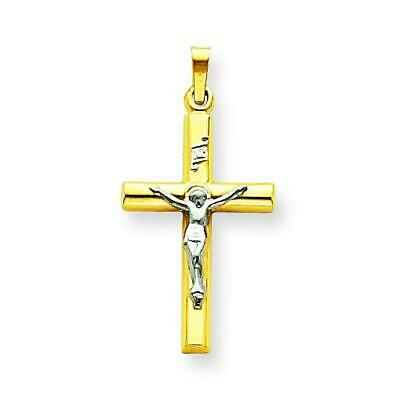 Jewelry Stores Network INRI Crucifix Pendant in 925 Sterling Silver 31x16mm