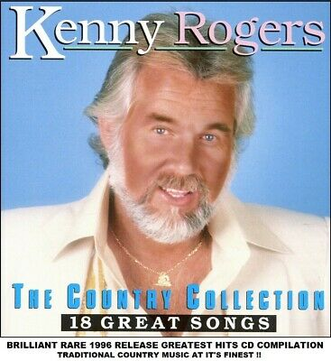 Kenny Rogers - The Very Best Greatest Hits Collection RARE 1996 Country Music CD