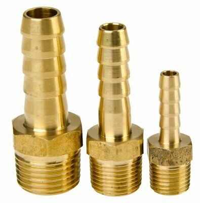 Brass Hose Tail with Male Tapered BSP Threads Hosetail BSPT
