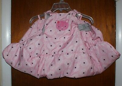Baby Shopping Cart Pink Cover By Carters