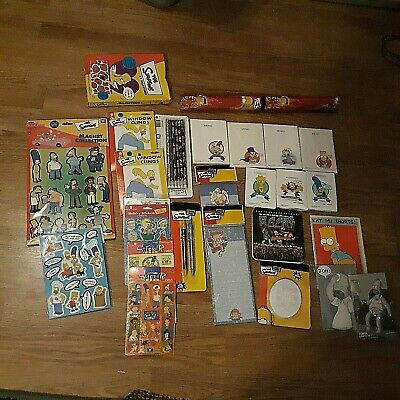 The Simpsons A Collection .. NEW..you should look Lots of odd Collectibles