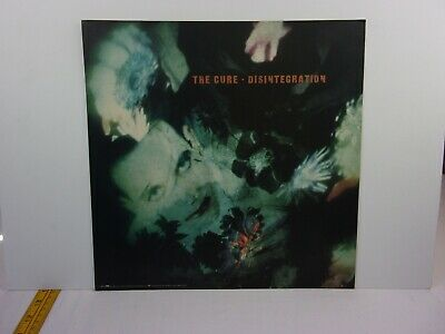 The Cure Disintegration 1989 promotional album sized advertising poster