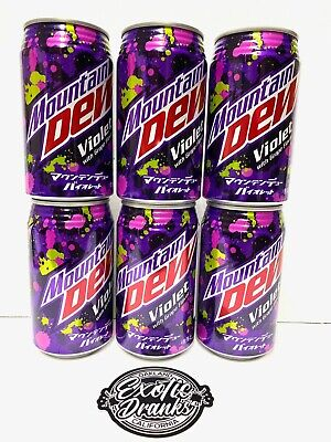1x NEW Mountain Dew Violet from Japan Exclusive Grape Flavor FREE SHIPING USA