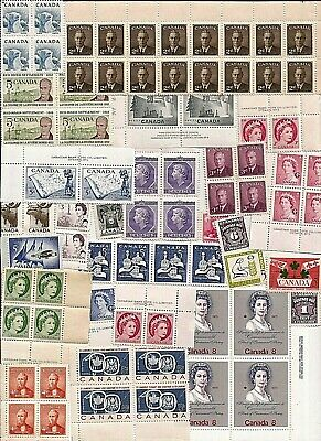 vintage MINT MNH UNUSED FULL GUM CANADA Canadian postage stamps lot C15Y MNH