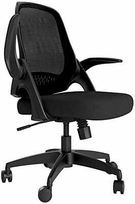 There is no Hbada chair office chair desk chair chair flip-up armrest compact ab