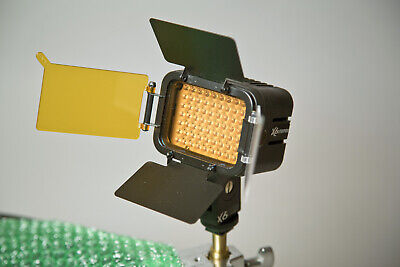 LUXMEN LEDPRO X6 On-Camera Light - professional quality (5600K, dimmable...)