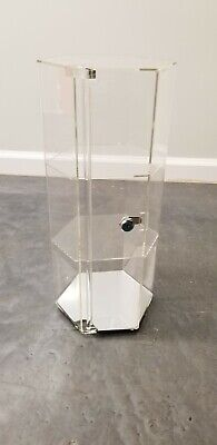Revolving Rotating Display Case Stand