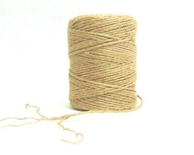 All-Natural 2-ply Cord Rope for Craft Gift DIY 3 rolls 354/' Jute Twine String