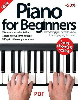 Piano for Beginners by Hudson Fiona 🔥PDF Book 🔥30 Sec Delivery
