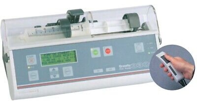Graseby 3300 Syringe Pump with key driver PCA button patient.