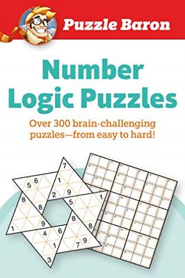 Puzzle Baron Number Logic Puzzles BOOK NEW