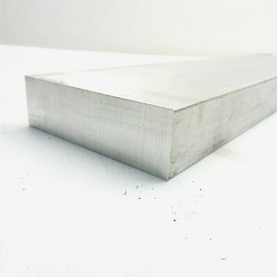 "1.5"" x 5"" Aluminum 6061 FLAT BAR 10.625""  Long new mill stock sku 176045"