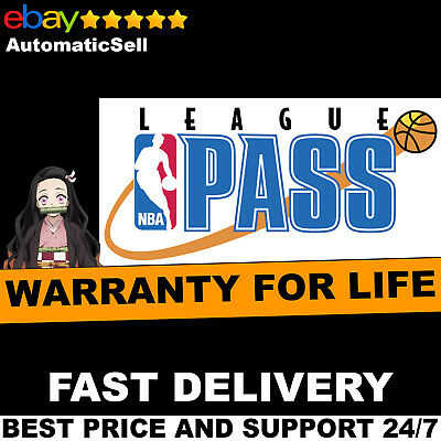 NBA League Pass | 3 Year Warranty | Support | Fast Delivery