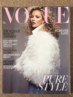 UK Vogue Kate Moss Cover May 2019